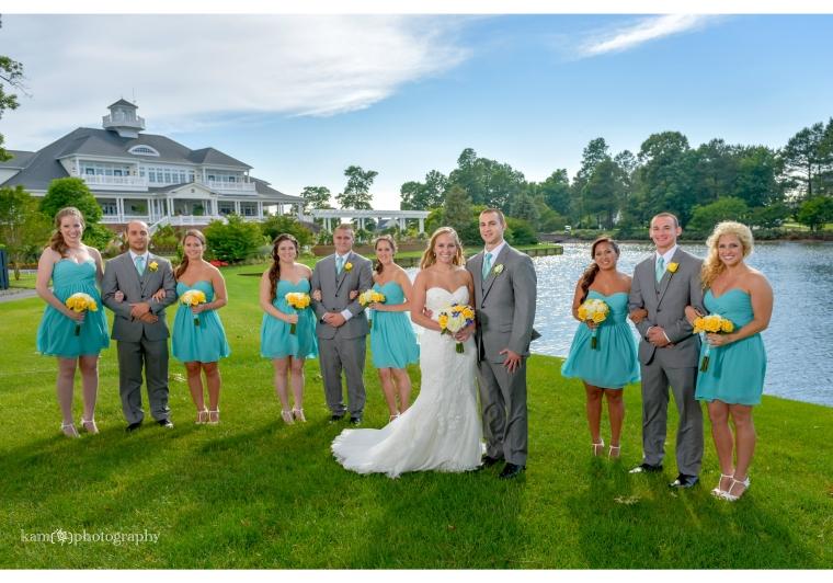 Baywood Greens wedding group photo
