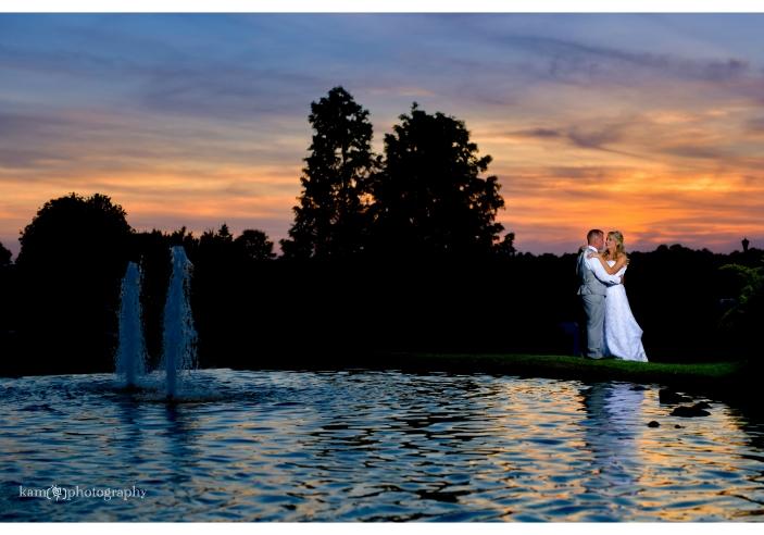 Baywood Greens wedding photo night