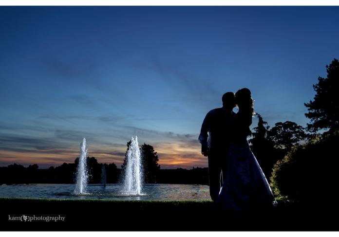 Baywood Greens wedding photography night