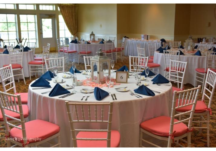 Baywood Greens wedding table setting