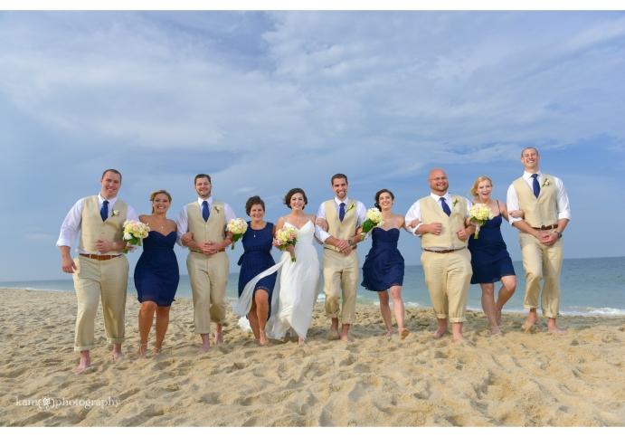 group wedding photo Bethany Beach