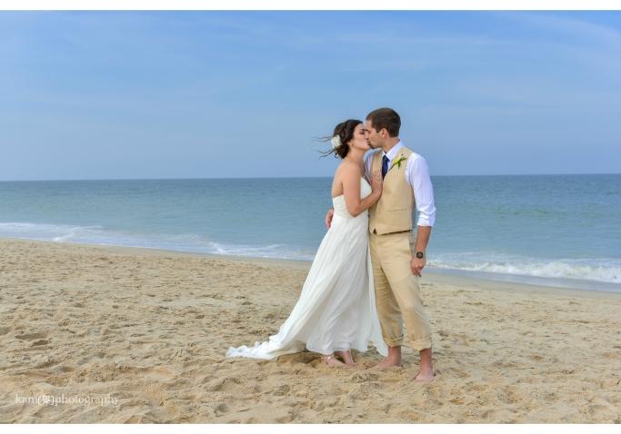 wedding couple Bethany Beach