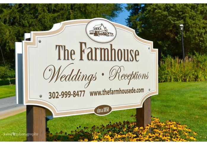 The Farmhouse wedding venue Newark Delaware