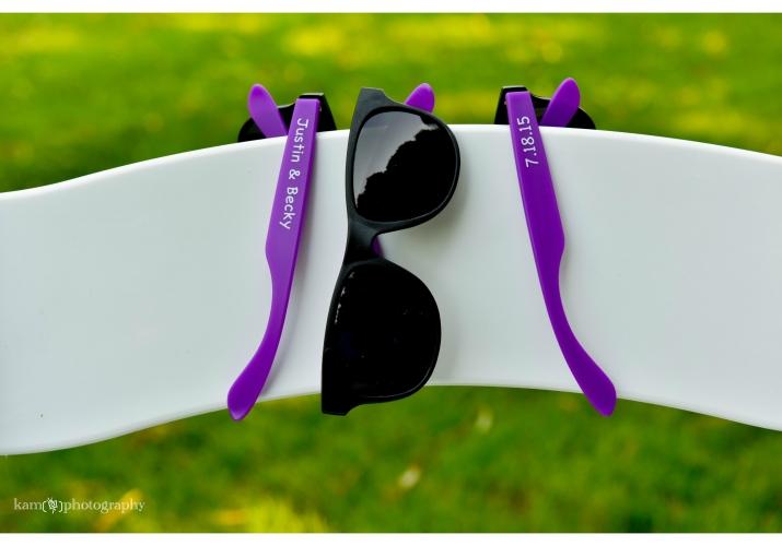 wedding details sunglasses