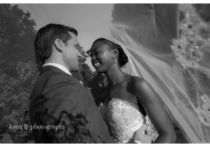 Baywood Greens wedding in black and white