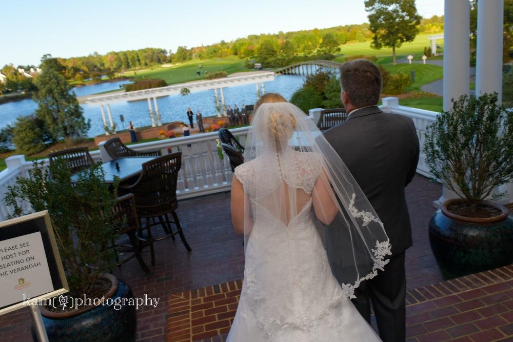 fall wedding, Baywood Greens 7