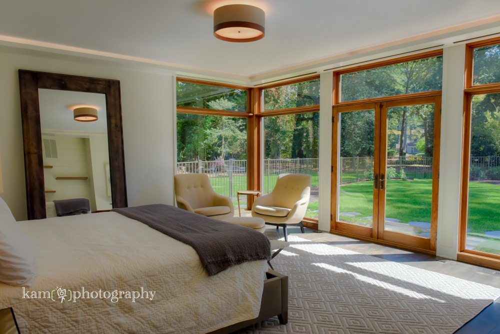 Burton Builders custom home in Delaware, bedroom