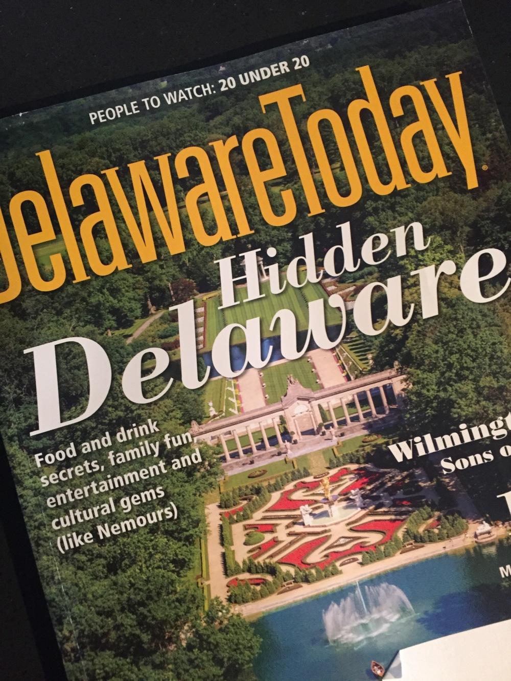 Delaware Today photo shoot