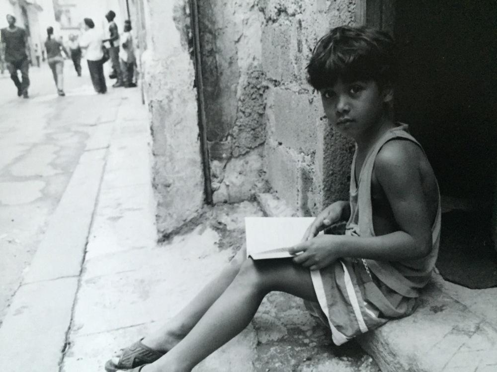 boy in Havana, Cuba, street portrait