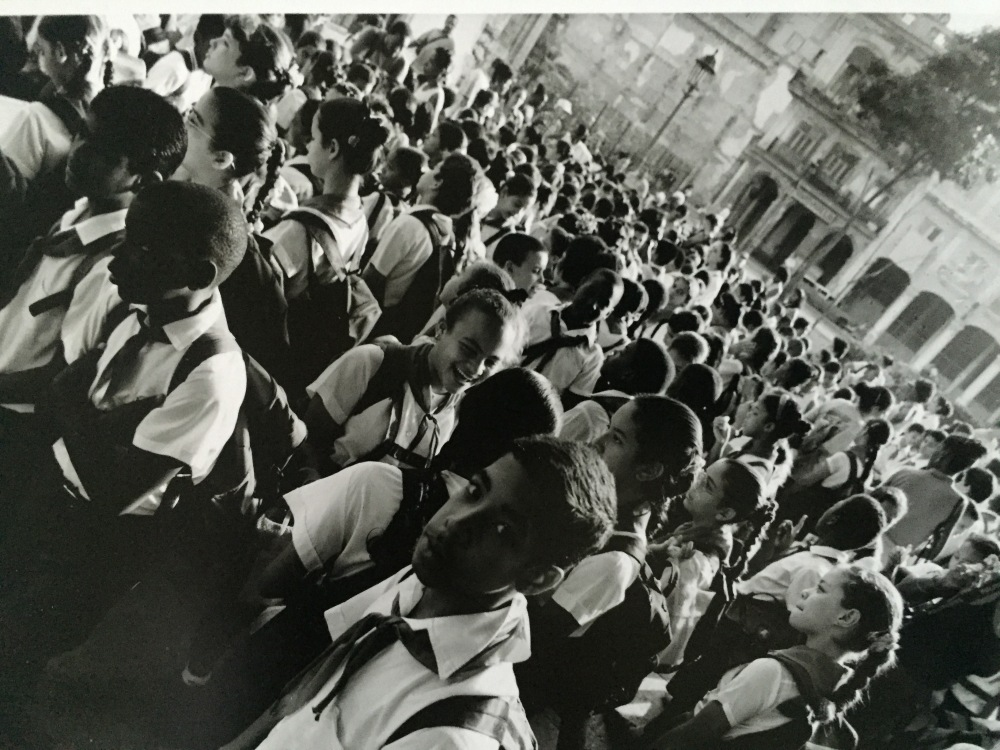 school children in Havana, Cuba