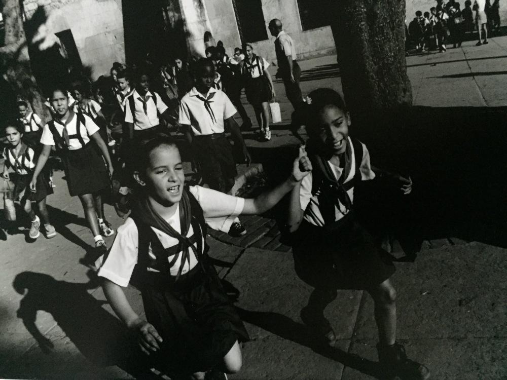 school kids in Havana, Cuba
