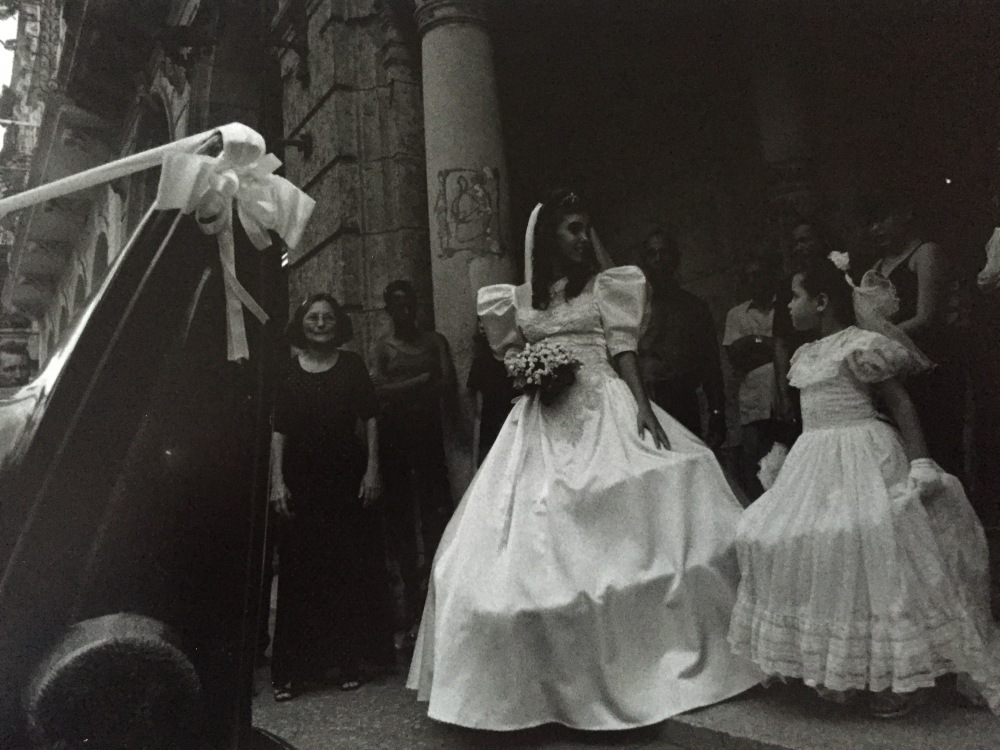 wedding day in Havana, Cuba