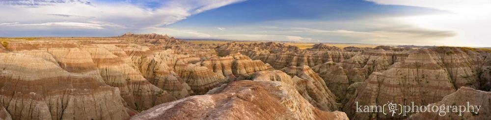 Panorama canyon nature photography